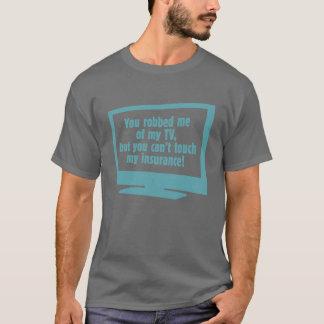 Robbed My TV Basic Basic Dark T-Shirt