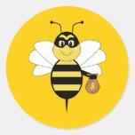 RobBee Bumble Bee Sticker