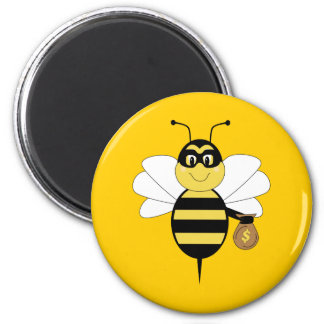 RobBee manosea el imán de la abeja