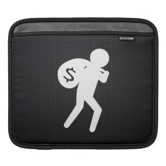 Robber Criminals Graphic iPad Sleeves