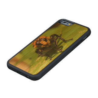 Robber Fly Carved Cherry iPhone 6 Bumper Case