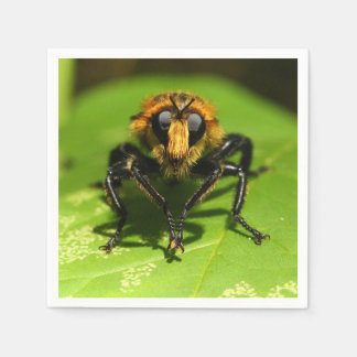Robber Fly Paper Napkin