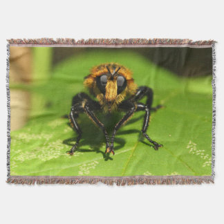 Robber Fly Throw