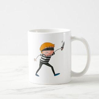 Robber Classic White Coffee Mug