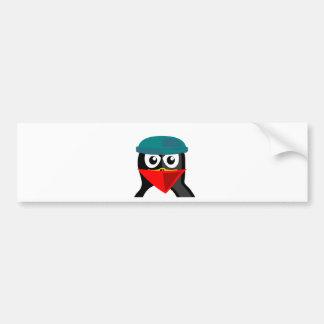 Robber Penguin Bumper Stickers