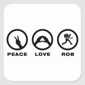 Robber Stickers
