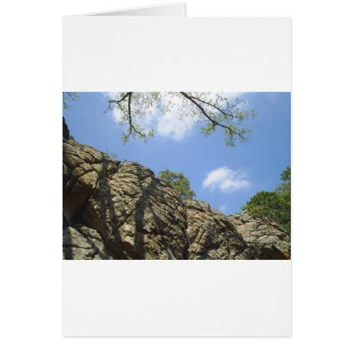 Robbers cave greeting card