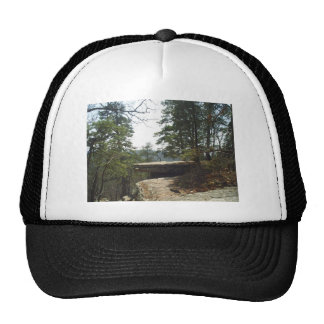 robbers cave trucker hat