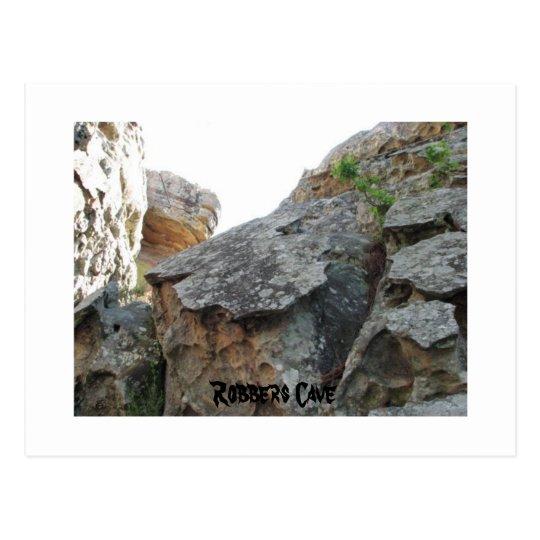 Robbers Cave Postcard