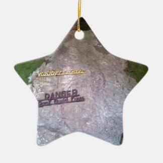Robber's Cave State Park Ceramic Ornament