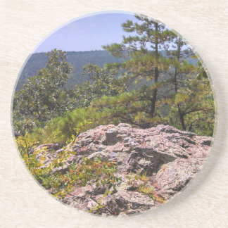 Robber's Cave State Park Sandstone Coaster