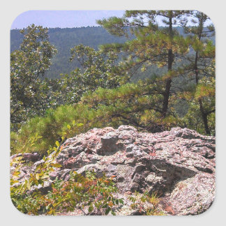 Robber's Cave State Park Square Sticker