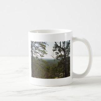 Robbers Caves Classic White Coffee Mug