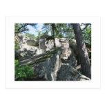 Robbers Caves Oklahoma Postcards