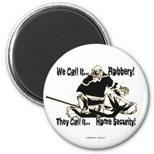 ROBBERY 2 INCH ROUND MAGNET