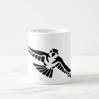 robbery bird predator bird coffee mug
