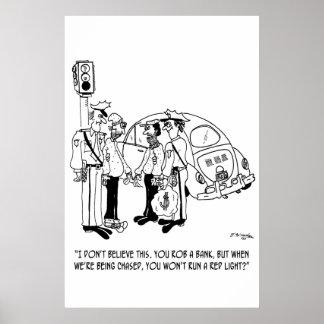 Robbery Cartoon 4881 Poster
