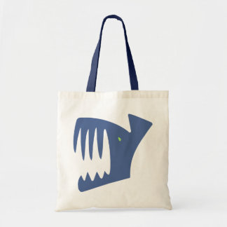 Robbery fish predator fish tote bag