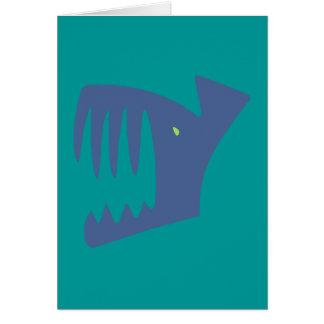 Robbery fish predator fish card