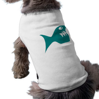 Robbery fish predator fish dog t-shirt