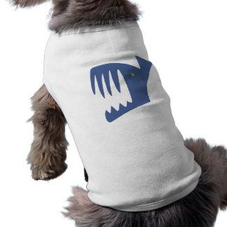 Robbery fish predator fish dog clothes