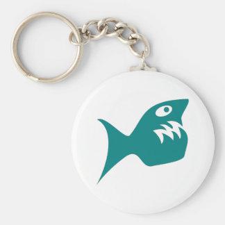 Robbery fish predator fish keychain