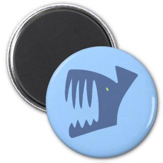 Robbery fish predator fish refrigerator magnet