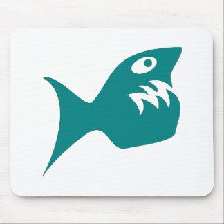 Robbery fish predator fish mousepads