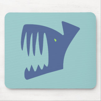 Robbery fish predator fish mousepad
