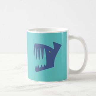 Robbery fish predator fish coffee mug