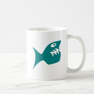 Robbery fish predator fish mug