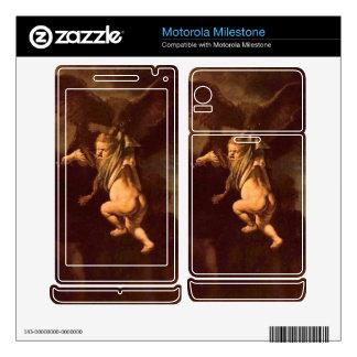 Robbery of Ganymede by Rembrandt Motorola Milestone Skin