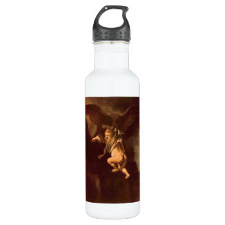 Robbery of Ganymede by Rembrandt Stainless Steel Water Bottle