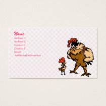 Robbey Rooster Business Card