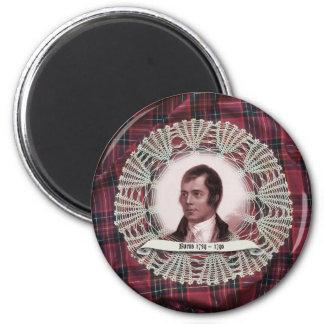 Robbie Burns Highland pin 2 Inch Round Magnet