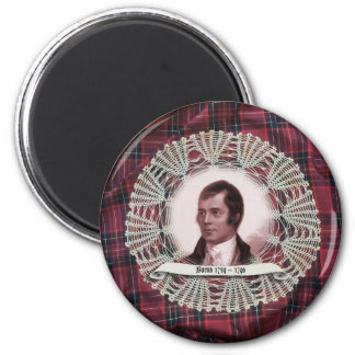 Robbie Burns Highland pin Magnet