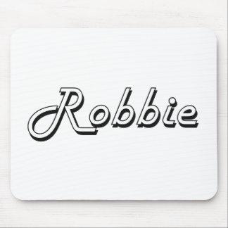 Robbie Classic Retro Name Design Mouse Pad