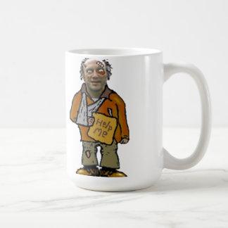 robbie el individuo sin hogar taza
