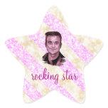 Robbie rocking star sticker