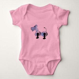 Robbie Steampunk Dog Baby Bodysuit