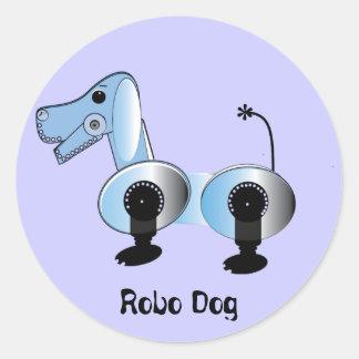 Robbie Steampunk Dog Sticker