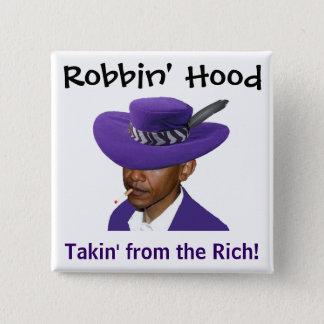 Robbin' Hood - Obama Button