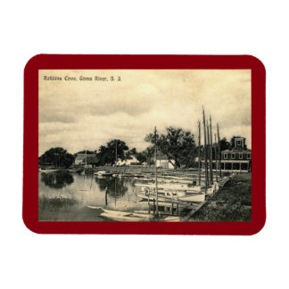 Robbins Cove, Toms River, New Jersey Vintage Magnet