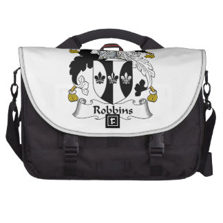 Robbins Family Crest Laptop Messenger Bag