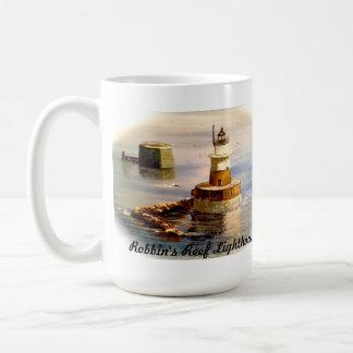 Robbin's Reef Lighthouse (and Lighthouse Poem) Mug