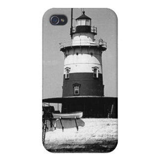 Robbins Reef Lighthouse iPhone 4/4S Covers