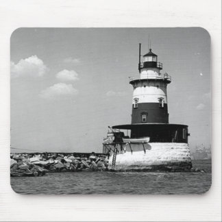 Robbins Reef Lighthouse Mouse Pads