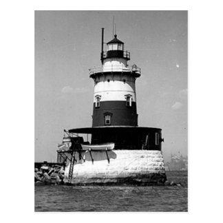 Robbins Reef Lighthouse Postcard