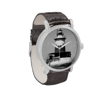 Robbins Reef Lighthouse Wrist Watches
