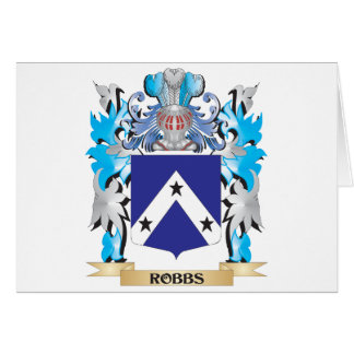 Robbs Coat of Arms - Family Crest Greeting Cards
